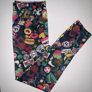 Pants - NWOT leggings w/a variety-fun objects & patterns